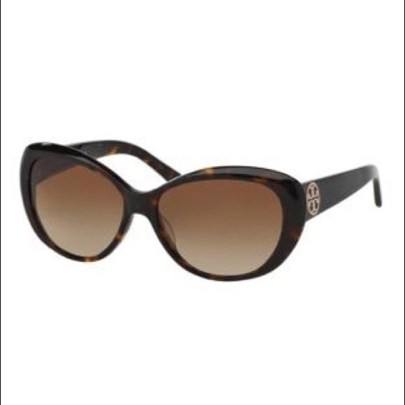 Tory Burch Tortoise Shell Cat Eye Sunglasses